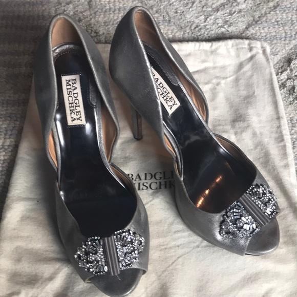 Badgley Mischka Shoes | Silver Wedding